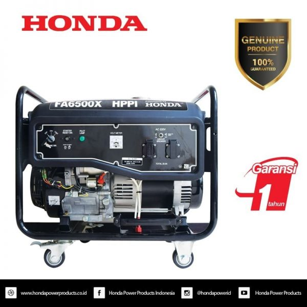 Genset Honda FA6500X